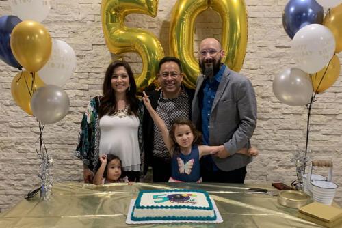 Pastor Nestor's 50th
